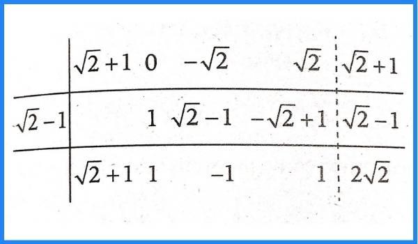 problema 8 division algebraica de polinomios